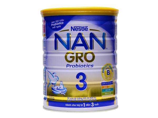 Sữa bột Nan Gro 3 có tốt không?