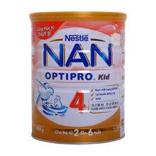 Sữa bột Nan Optipro Kid 4 giúp bé trên 2 tuổi phát triển chiều cao tối ưu