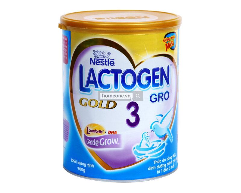 Sữa bột Nestle Lactogen Gold 3 – 900g – Giải pháp cho hệ tiêu hóa của bé