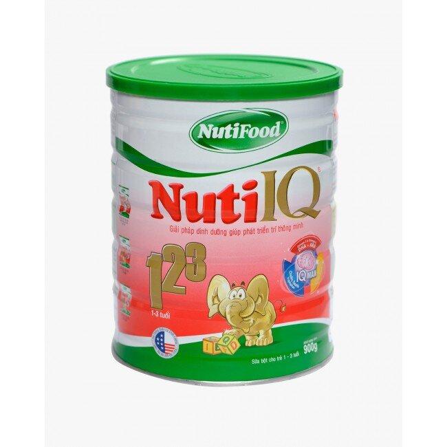 Sữa bột Nuti IQ 123 – Bé thông minh vượt trội