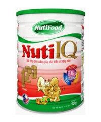 Sữa bột Nuti IQ 123 - Sữa dành cho trẻ từ 1 - 3 tuổi