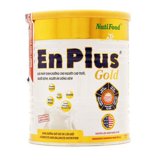 Sữa bột Nutifood Enplus Gold dinh dưỡng cho người suy nhược cơ thể