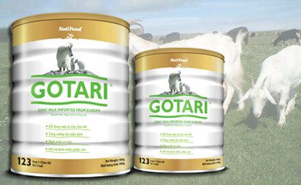 Sữa bột Nutifood Gotari 123 cho bé dị ứng đạm sữa bò