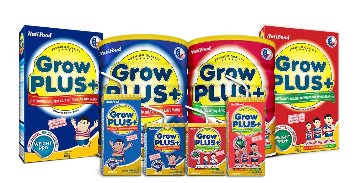 Sữa bột Nutifood Grow Plus có giúp bé tăng cân tốt không?