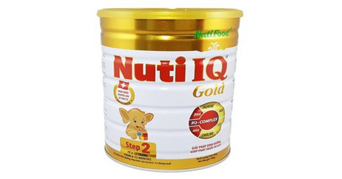 Sữa bột Nutifood mới nhất giá bao nhiêu tiền ? Mua ở đâu ?