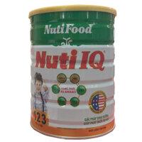 Sữa bột Nutifood Nuti IQ 123 giúp bé phát triển toàn diện