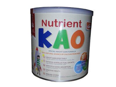 Sữa bột Nutrient KAO giúp bé phát triển chiều cao vượt trội