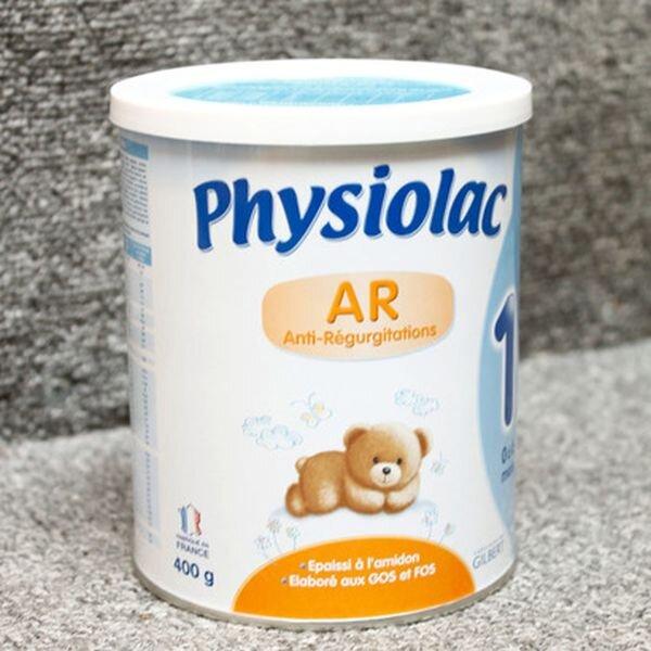 Sữa bột Physiolac AR1 chống nôn trớ cho bé sơ sinh