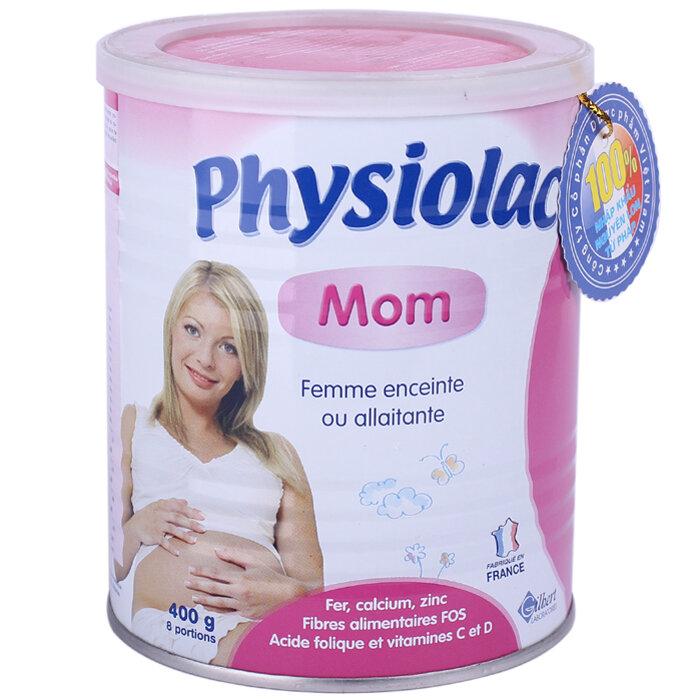 Sữa bột Physiolac Mom cho thai kỳ khỏe mạnh