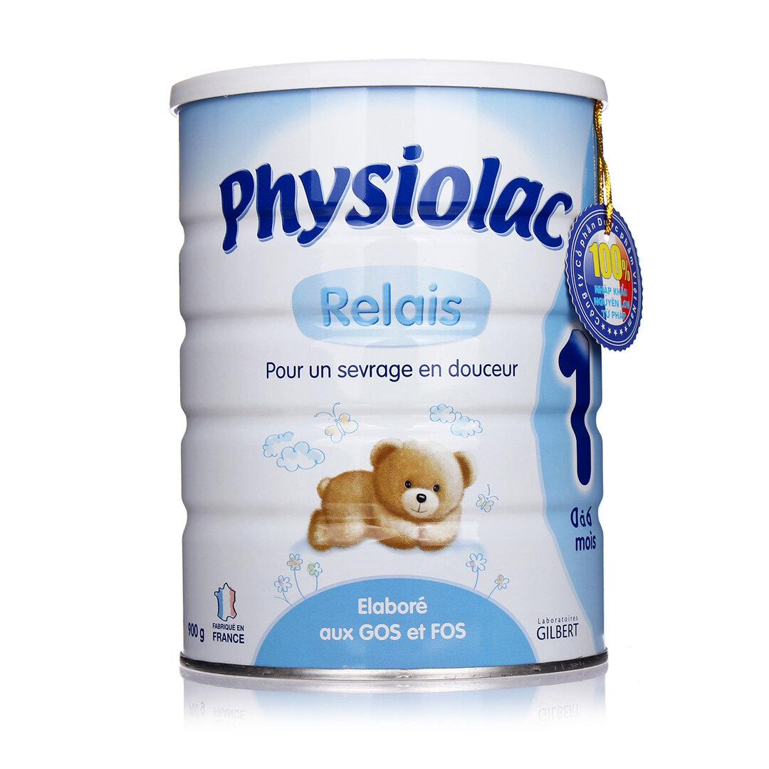 Sữa bột Physiolac số 1 dinh dưỡng cho bé từ 0 đến 6 tháng tuổi