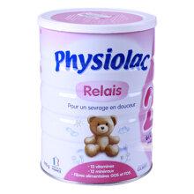 Sữa bột Physiolac số 2 dinh dưỡng cho trẻ từ 6 đến 12 tháng tuổi