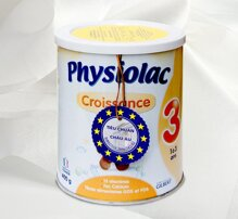 Sữa bột Physiolac số 3 có tốt không, có tăng cân không?