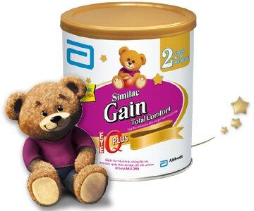 Sữa bột Similac Gain Plus Total Comfort 3 – Tối ưu cho hệ tiêu hóa non nớt