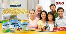 Sữa bột Surecare chính hãng không lo hàng giả tại siêu thị sữa Online Sua.vn