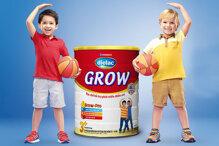 Sữa bột Vinamilk Dielac Grow giải pháp tăng chiều cao hiệu quả cho bé