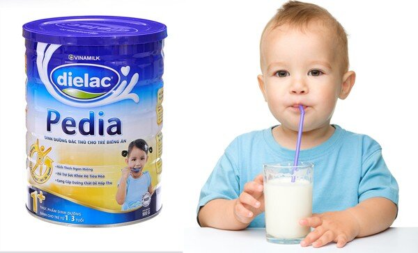 Sữa bột Vinamilk Dielac Pedia 1+ giải pháp dinh dưỡng cho bé biếng ăn, nhẹ cân