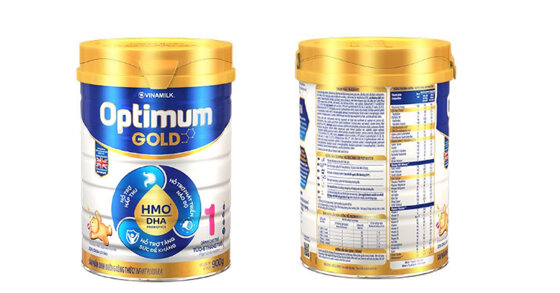 Sữa bột Vinamilk Optimum Gold 1 có tăng cân không ?