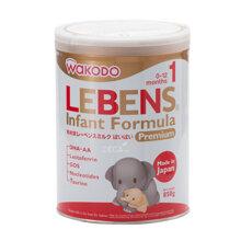 Sữa bột Wakodo Lebens số 1 dinh dưỡng cho bé từ 0 đến 12 tháng tuổi