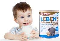 Sữa bột Wakodo Lebens số 2 dinh dưỡng cho bé từ 1 đến 3 tuổi