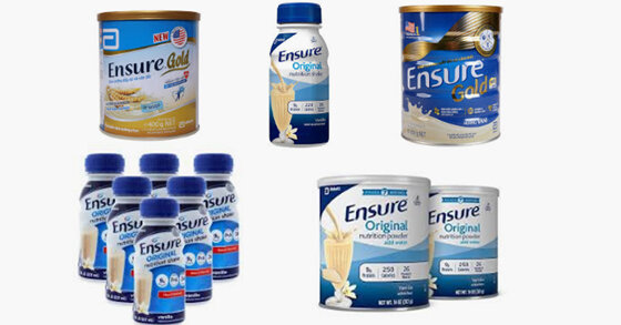 Sữa Ensure tốt cho người ốm không ? Cập nhật giá rẻ nhất tháng 8/2019 ?