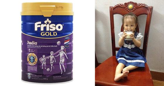 Sữa Friso Gold Pedia có thực sự giúp trẻ hết biếng ăn không ?