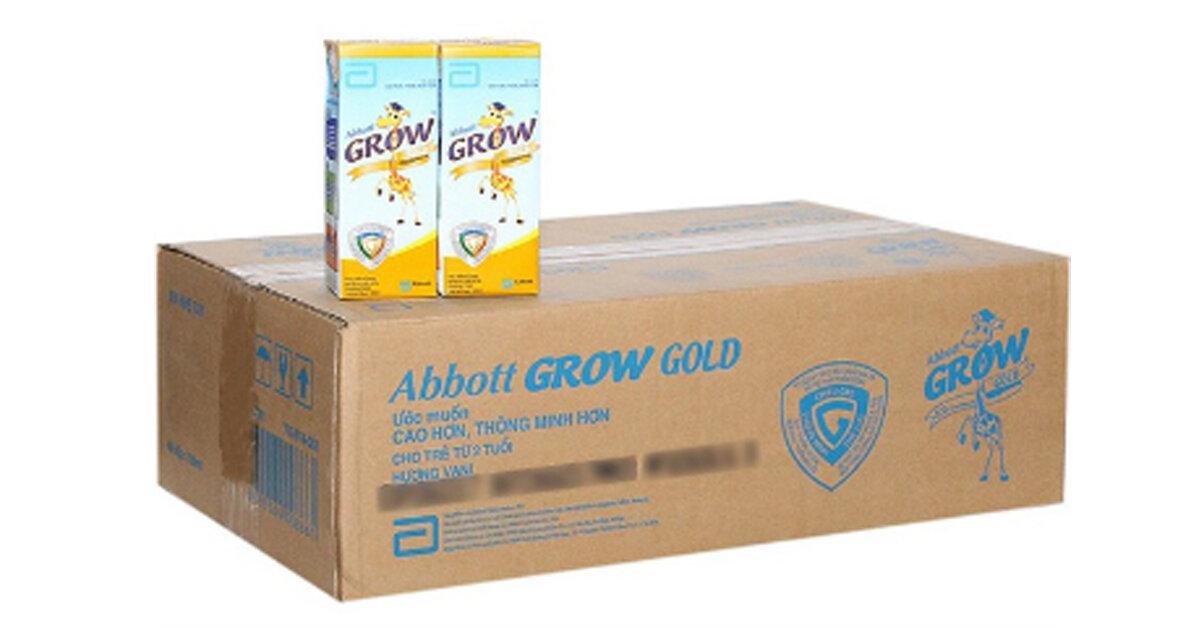 Sữa Grow hươu cao cổ hộp giấy có tốt không ? Có mấy loại ? Giá bao nhiêu tiền ?