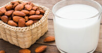 Sữa hạnh nhân – Mua thì đắt mà uống vèo cái hết, tự làm vừa hay lại hóa ra tiết kiệm bao nhiêu thứ