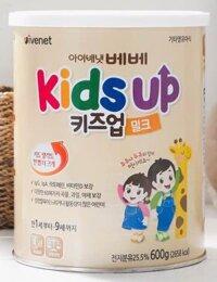 Sữa Kids Up giúp bé tăng trưởng chiều cao tối ưu