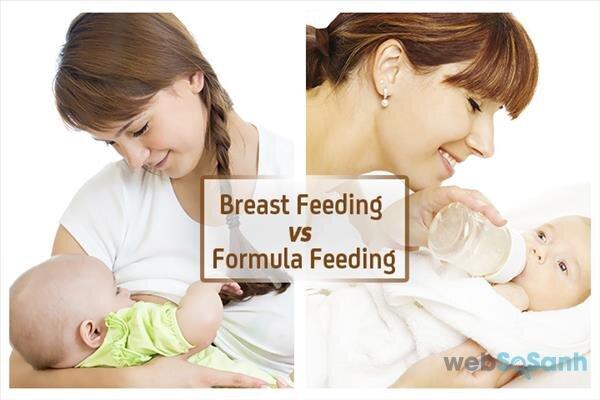 Sữa mẹ và sữa công thức – nên chọn sữa nào cho bé?