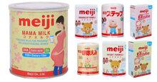 Sữa Meiji có mấy loại?