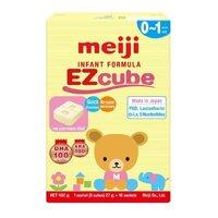Sữa Meiji thanh EZcube dinh dưỡng cho bé từ 0 đến 1 tuổi