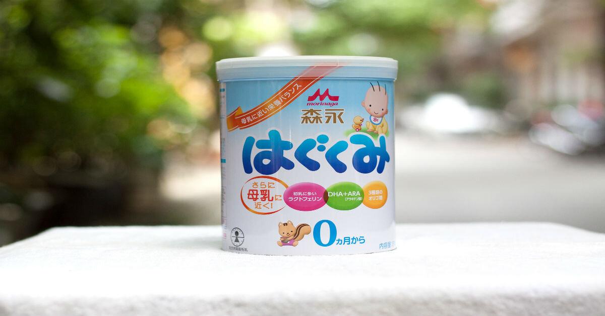 Sữa Morinaga chính hãng giá bao nhiêu tiền ?