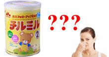 Sữa Morinaga nhập khẩu tại vì sao lại có mùi tanh hơn sữa Morinaga nội địa Nhật ?