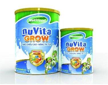 Sữa NuVita Grow 900g – Cho bé sự phát triển tốt nhất