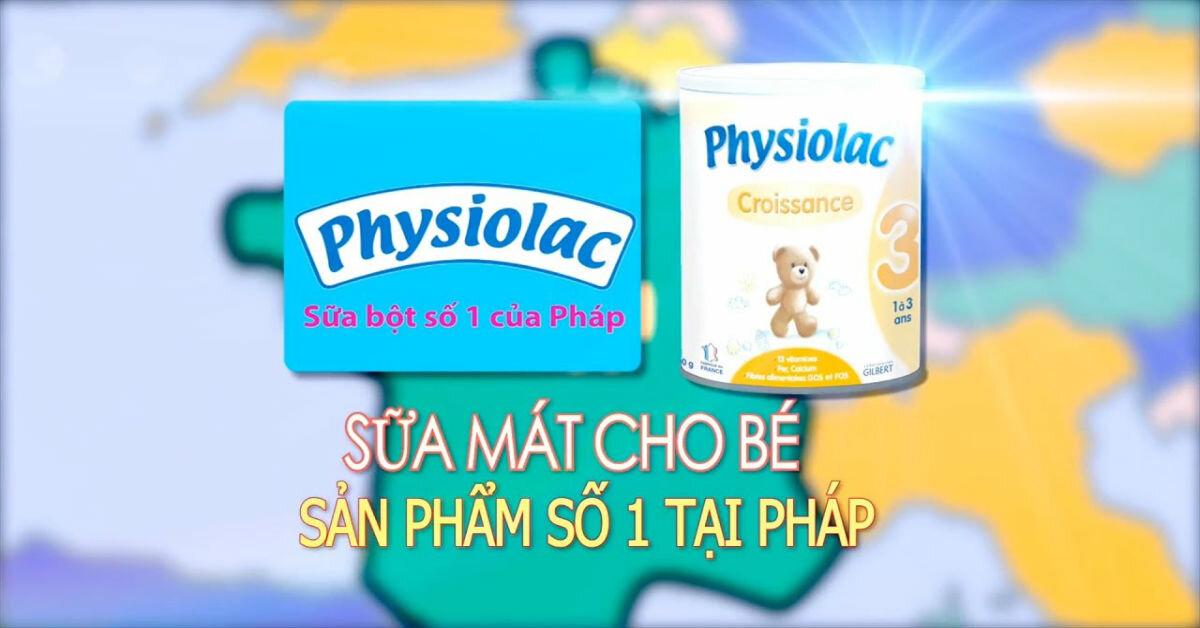 Sữa Physiolac có tăng cân không, giá bao nhiêu tiền ?