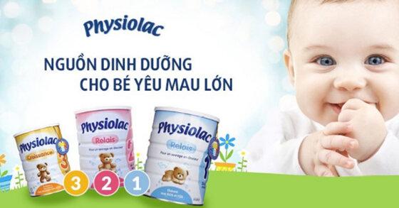 Sữa Physiolac có tốt không? Có tăng cân không? Giá sữa bột Physiolac rẻ nhất bao nhiêu tiền?
