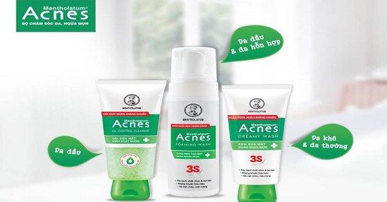 Sữa rửa mặt Acnes cho nam - Top 3 sản phẩm nên dùng