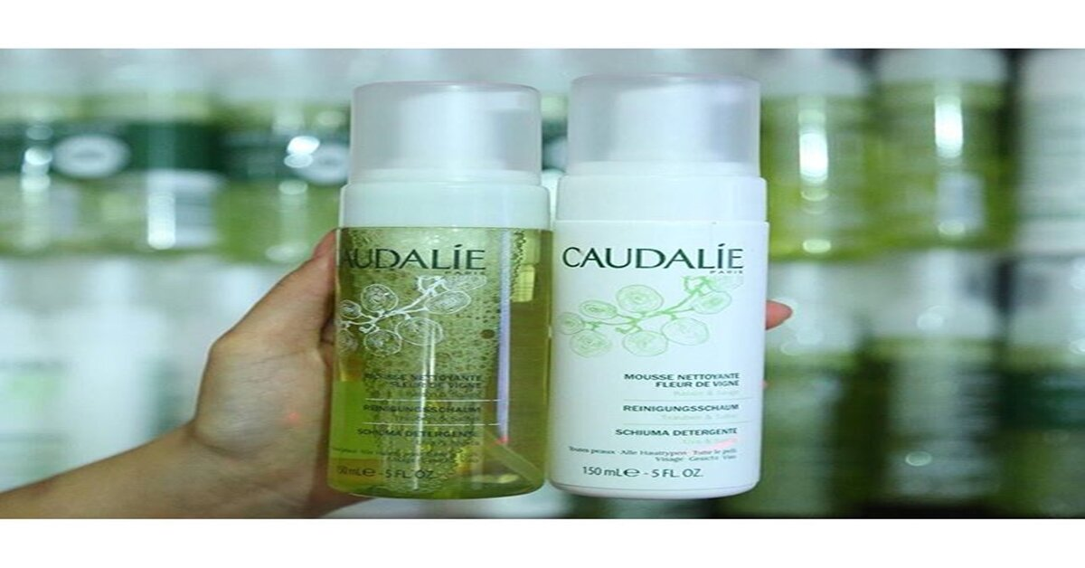 Sữa rửa mặt Caudalie có những loại nào ?
