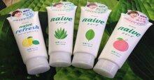 Sữa rửa mặt Naive có những loại nào? Từng loại có những ưu điểm gì?