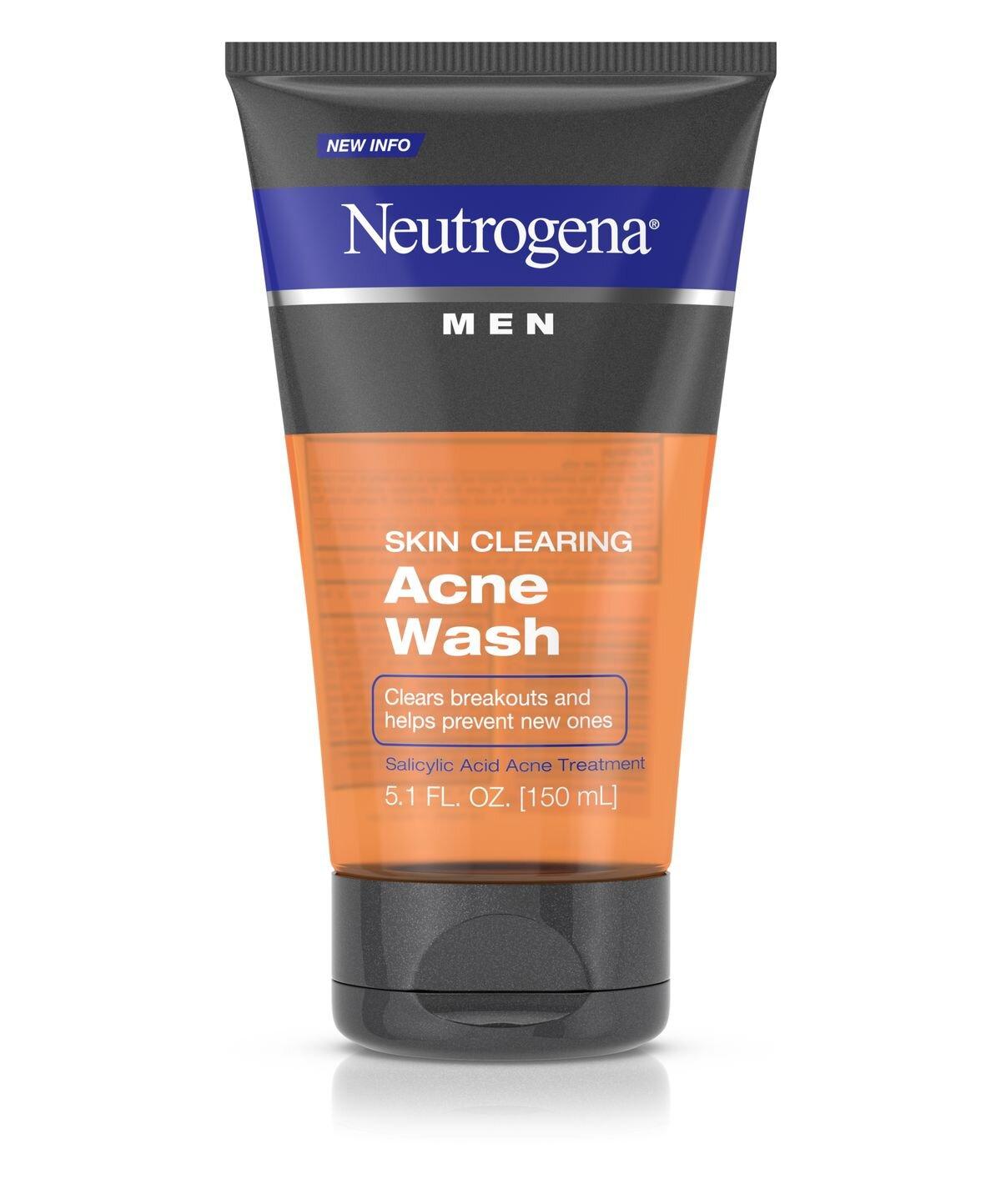 Sữa rửa mặt Neutrogena dành cho nam có những loại nào tốt ?