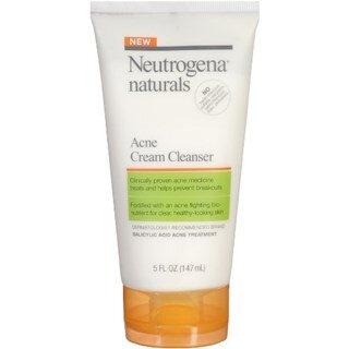 Sữa rửa mặt trị mụn Neutrogena Naturals Acne Cream có tốt không?
