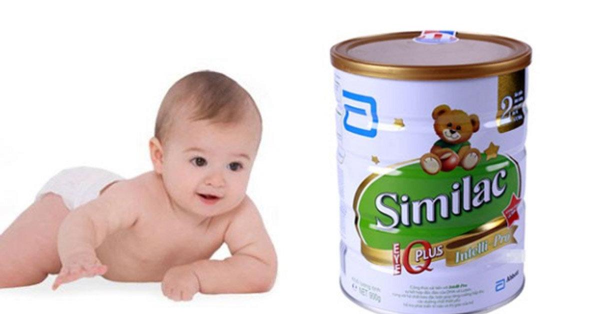 Sữa Similac 2 có tốt khôn? Có bị táo bón không? Mua loại nào tốt nhất?