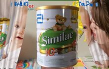 Sữa Similac có mấy loại cho bé từ 6 tháng tuổi tăng chiều cao cân nặng