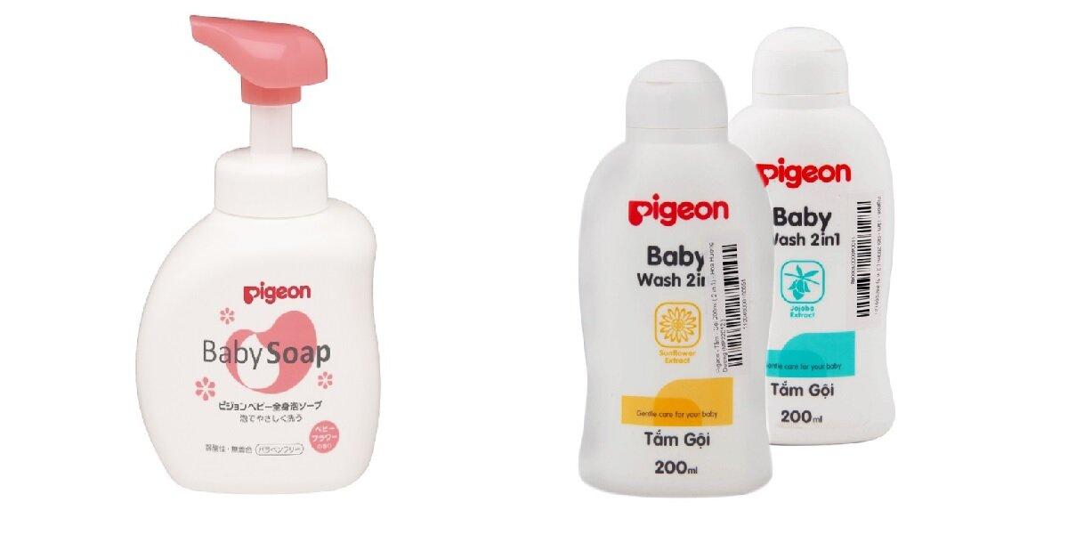 Sữa tắm cho trẻ sơ sinh Pigeon có tốt không ? Có mấy loại ? Giá bao nhiêu ?