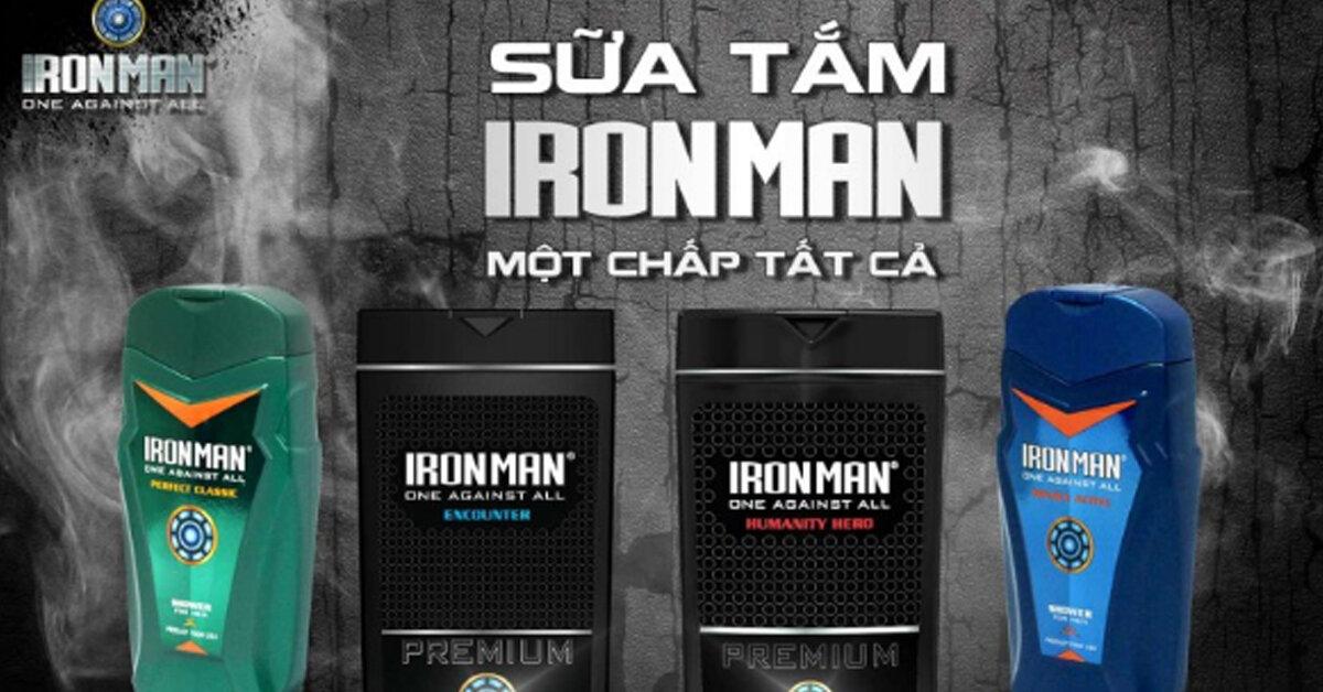 Sữa tắm Ironman có tốt không ? Giá sữa tắm Ironman bao nhiêu? Nơi bán rẻ nhất ?