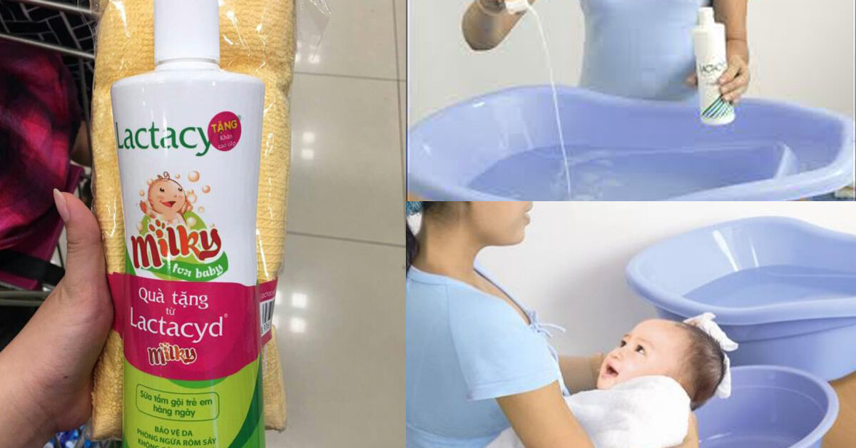 Sữa tắm Lactacyd có tốt không ?