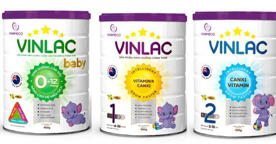 Sữa tăng cân Vinlac có tốt không ? Có mấy loại ? Giá bao nhiêu tiền ?