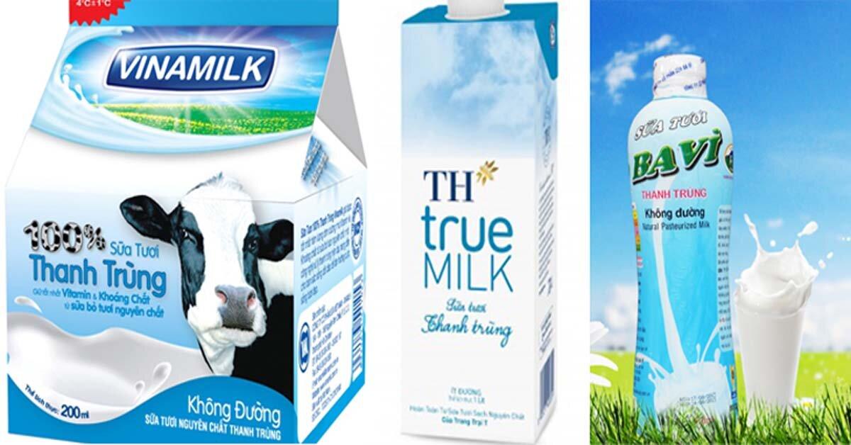 Sữa tươi thanh trùng là gì? Có ưu nhược điểm gì so với sữa tươi tiệt trùng?