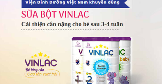 Sữa Vinlac sản xuất ở đâu ? Sữa Vinlac của nước nào ?