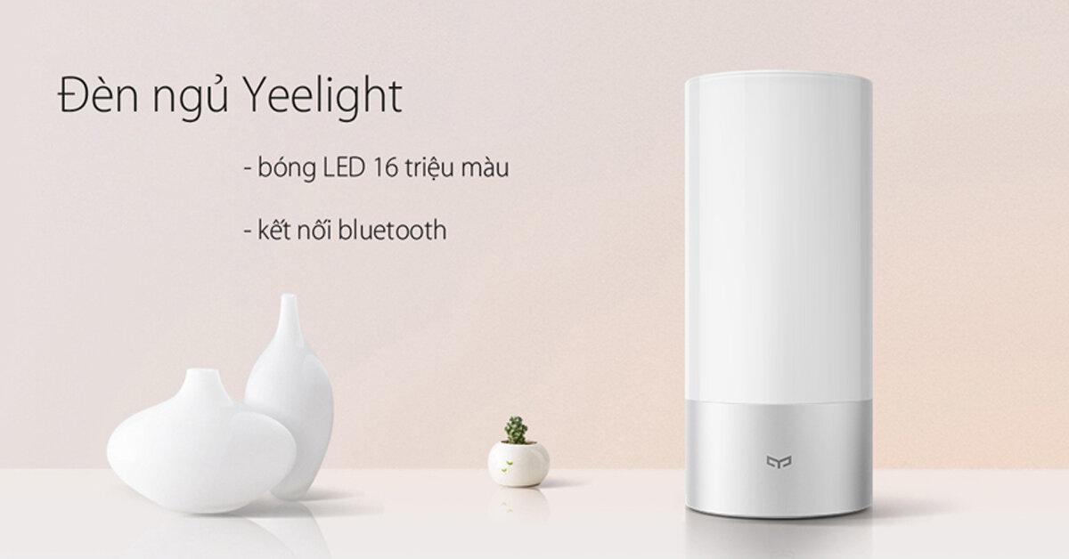 Sướng và khổ ra sao khi sử dụng đèn ngủ thông minh Xiaomi ?